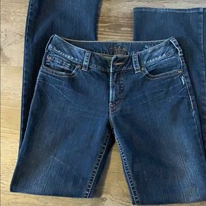Silver Suki Boot Cut Denim 29*33